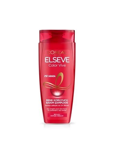 L'Oréal Paris L'Oréal Paris Elseve Colorvive Renk Koruyucu Bakım Şampuanı 2'si 1 Arada 450 ml Renksiz